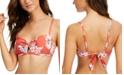 SUNDAZED Beka Printed Bow Bikini Top, Created for Macy's