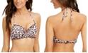 SUNDAZED Nixie Printed Ruffled Underwire Bikini Top, Created for Macy's