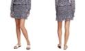 1.STATE Floral-Print Smocked Skirt