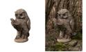 Campania International Scholarly Owl Garden Statue