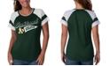G-III Sports Women's Oakland Athletics MLB Biggest Fan T-Shirt