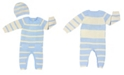 Earth Baby Outfitters Baby Boys and Girls Bamboo Knit Romper