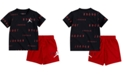 Jordan Baby Boys 2-Pc. Printed T-Shirt & Shorts Set