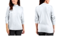 Karen Scott Cotton Mock-Neck Top, Created for Macy's