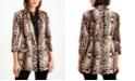 INC International Concepts INC Animal-Print Jacket, Created for Macy's
