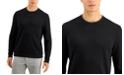 Tasso Elba Men's Crossover Textured Sweater, Created for Macy's