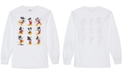Disney Juniors' Mickey Mouse Poses Long Sleeve Shirt