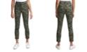 Calvin Klein Jeans Camo-Print Cropped Skinny Pants