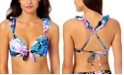 California Waves Juniors Ruffle Bikini Top, Created for Macy's