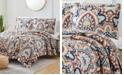 Olivia Gray Georgetown Damask 3-Piece Reversible Quilt Set, King
