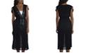 La Blanca Embroidered Island Fare Midi Cover-Up Dress
