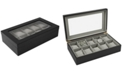 Bey-Berk 10-Piece Watch Box