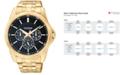 Citizen Men's Gold-Tone Stainless Steel Bracelet Watch 42mm AG8342-52L