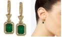 EFFY Collection Brasilica by EFFY® Emerald (2-7/8 ct. t.w.) and Diamond (1/2 ct. t.w.) Earrings in 14k Gold, Created for Macy's