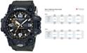 G-Shock Men's Analog-Digital Mud Master Green Bracelet Watch 56x59mm GWG1000-1A3