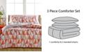 Ellison First Asia CLOSEOUT! Rikka 3-Piece Reversible Full/Queen Comforter Set
