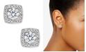 Eliot Danori Silver-Tone Multi-Crystal Square Stud Earrings, Created for Macy's