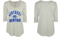 Retro Brand Women's Kentucky Wildcats Kat Vs Everyone Mock Twist T-Shirt