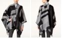 Calvin Klein Colorblocked Poncho