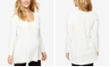 A Pea in the Pod Maternity Waffle-Knit Top