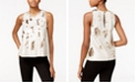 RACHEL Rachel Roy Sequined Swing Top, Created for Macy's
