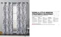 "Victoria Classics CLOSEOUT! Kingdom Branch-Print 40"" X 84"" Blackout Window Panel"