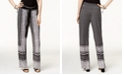 INC International Concepts INC Petite Printed Soft Pants, Created for Macy's