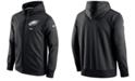 Nike Men's Philadelphia Eagles Therma Full-Zip Hoodie