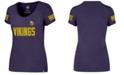 '47 Brand Women's Minnesota Vikings Ultra Club Scoop T-Shirt