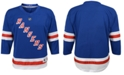 Authentic NHL Apparel New York Rangers Blank Replica Jersey, Toddler Boys
