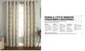 "Miller Curtains Savara Cotton 50"" x 84"" Watercolor Medallion-Print Window Panel"