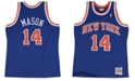 Mitchell & Ness Men's Anthony Mason New York Knicks Hardwood Classic Swingman Jersey