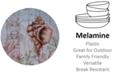Certified International Sanibel Melamine Dinner Plate