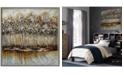Furniture Ren Wil Metallic Forest Wall Art, Quick Ship