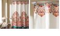 "Lush Decor Clara 72""x 72"" Bohemian Print Shower Curtain"
