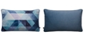 Graham & Brown Dimension Blue Pillow