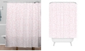 Deny Designs Iveta Abolina Pink Mist Shower Curtain
