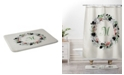 Deny Designs Iveta Abolina Silver Dove Christmas M Bath Mat
