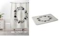 Deny Designs Iveta Abolina Silver Dove Z Bath Mat