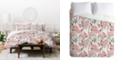 Deny Designs Holli Zollinger French Linen Hydrangea Twin Duvet Set