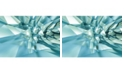 Brewster Home Fashions 3d Crystal Cave Wall Mural