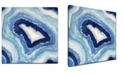 "Ready2HangArt 'Ocean Stone I' Abstract Canvas Wall Art, 20x20"""