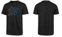 '47 Brand Men's Miami Marlins Club Logo T-Shirt