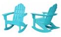 "Hanover All-Weather Adirondack Rocking Chair - 37.75"" x 29.75"" x 40"""