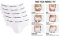 Calvin Klein Men's Cotton Stretch Hip Briefs 5-Pack