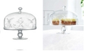 Qualia Glass Sylvan Cake Stand and Dome