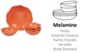 Certified International Perlette Coral Melamine 5-Pc. Salad/Serving Set