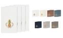 Linum Home Turkish Cotton Welcome 4-Pc. Embellished Bath Towel Set