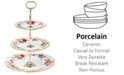 Royal Albert Old Country Roses Holiday 3-Tier Cake Plate