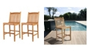 Amazonia 2 Piece Patio Barstool Set